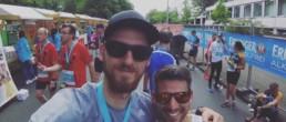 Im Ziel mit Sascha Kowalski | Vivawest Marathon 2017