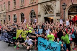 Gruppenfoto © Bjørn Brzeske   Hella Hamburg Halbmarathonarathon 2017