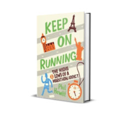 Laufbücher: Keep on running von Phil Hewitt