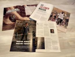 Laufblog Artikel in Fachmagazin