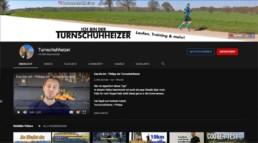Screenshot vom Laufkanal von Turnschuhheizer