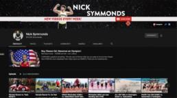 Screenshot vom Laufkanal von Nicholas Symmonds
