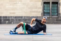 Hüfttraining für Läufer: Die Muschel