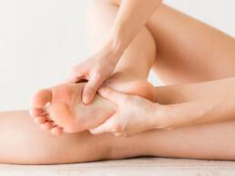 Füße trainieren Fußmassage